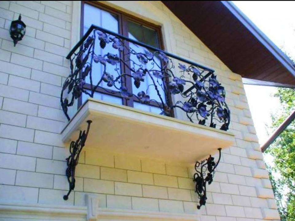 Металлическое украшение украшения для балкона..
